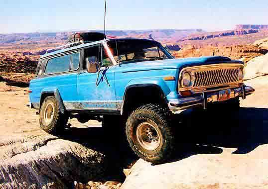 SomeHumanBeing's 1976 Jeep Cherokee