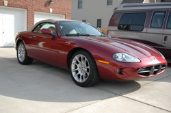 metalcos 1998 Jaguar XK Series