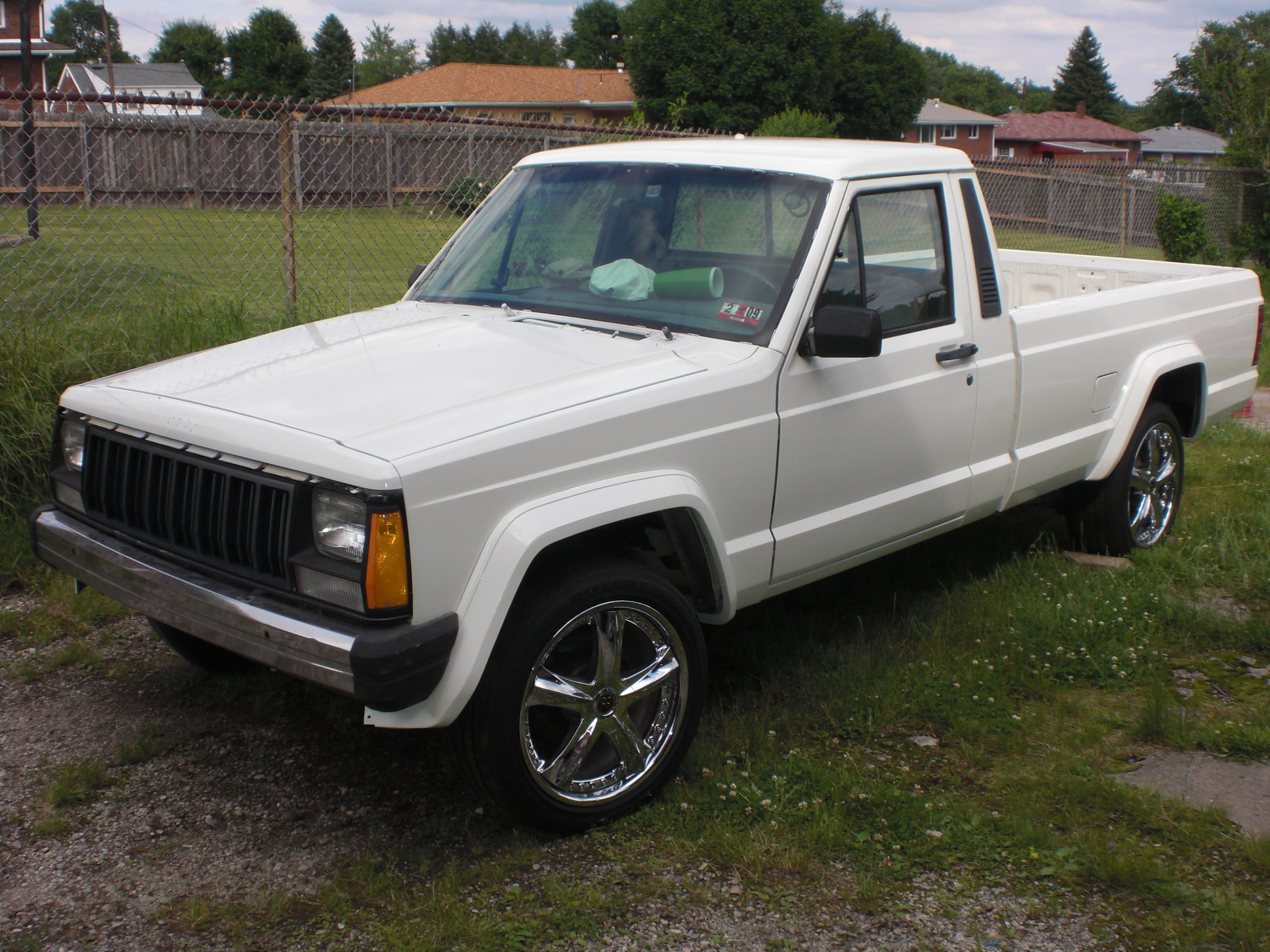 Cromanyak 1988 Jeep Comanche Regular Cab Specs Photos