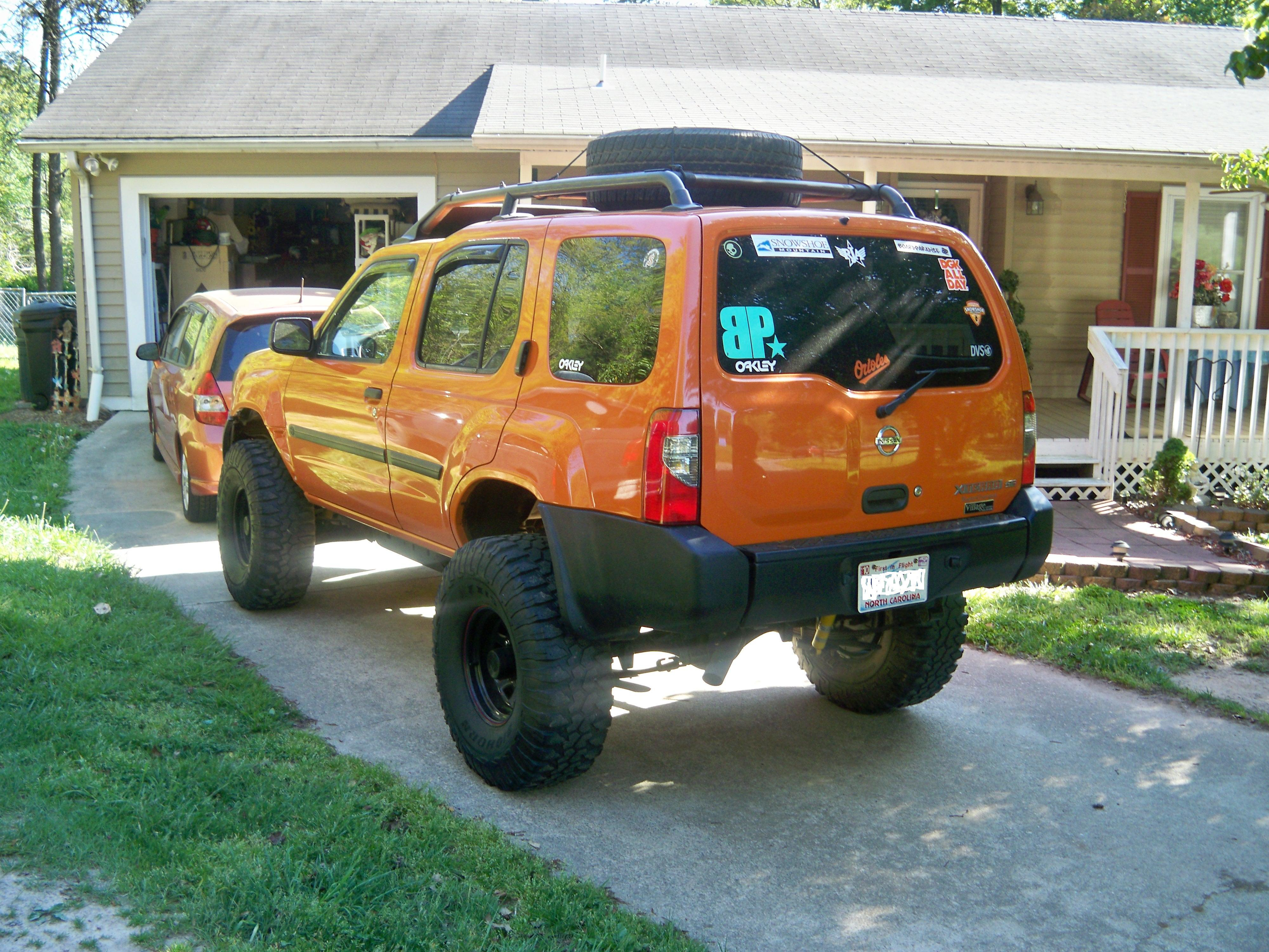 Pics of the x nissan xterra forum heres another atomic orange tank that will help inspire you to give into the mod bug ifs with 3 sl and 3 bl on 35s vanachro Gallery