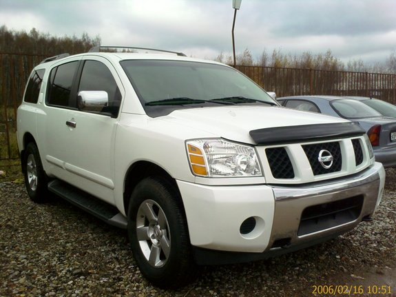 gebraucht 2004 nissan pathfinder armada specs photos modification info at cardomain. Black Bedroom Furniture Sets. Home Design Ideas