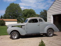 Movanner 1939 Plymouth Deluxe