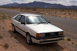 YellowRados 1986 Audi Coupe