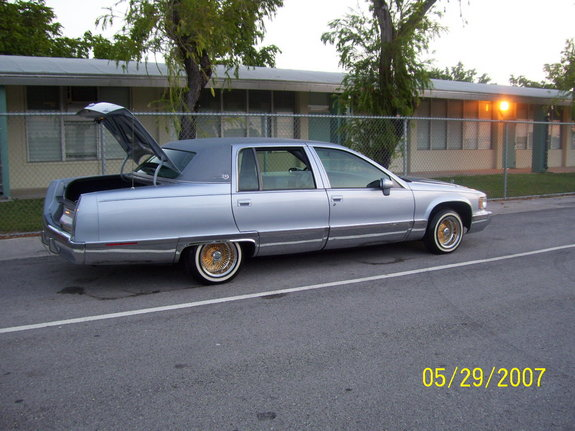 boog305 1994 cadillac fleetwood specs photos modification info at. Cars Review. Best American Auto & Cars Review