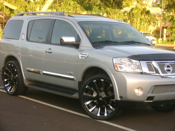 Another 007dale 2008 Nissan Pathfinder Armada post... - 10703615