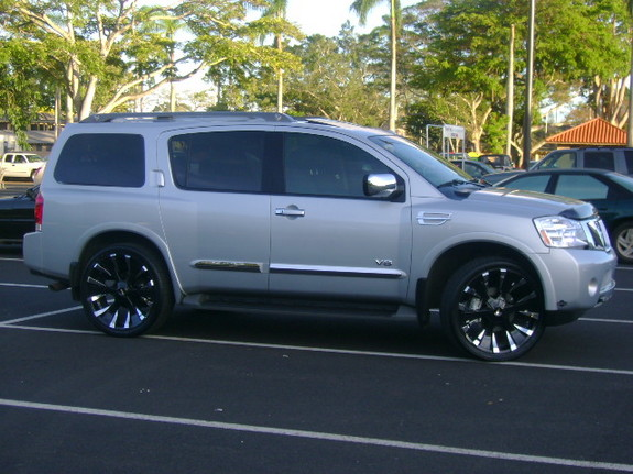 Another 007dale 2008 Nissan Pathfinder Armada post... - 10703623