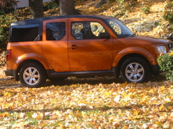 IntrludePixtures 2006 Honda Element