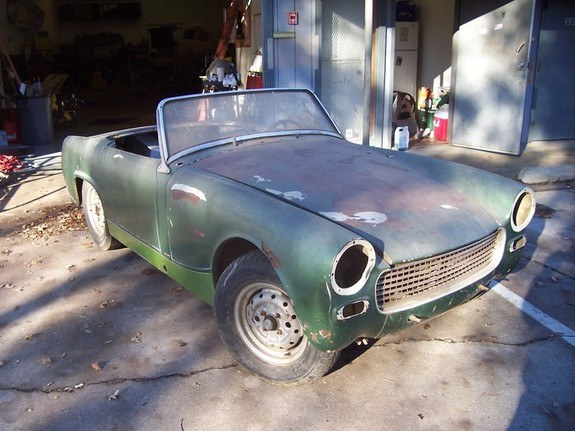 Another no_cones_ever 1961 Austin-Healey Sprite post... - 9335355