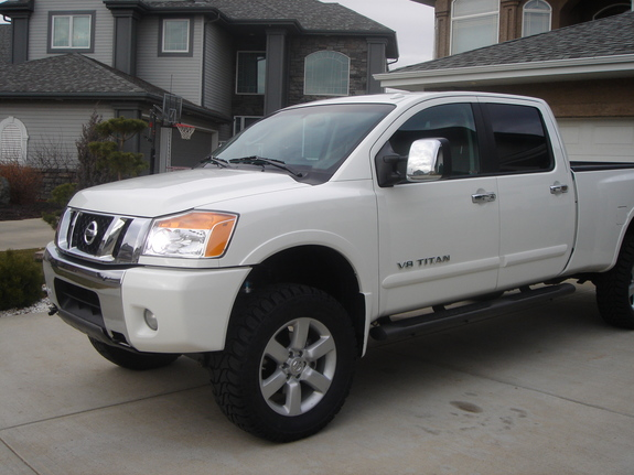 tprowse 2008 nissan titan crew cab specs photos modification info at cardomain. Black Bedroom Furniture Sets. Home Design Ideas