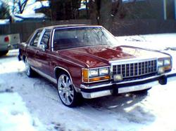 stuntman_692 1984 Ford LTD Crown Victoria