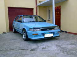 Toyota Tazz Modified