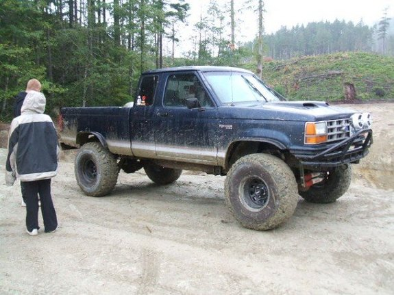 Large on 1990 Ford Ranger Extended Cab