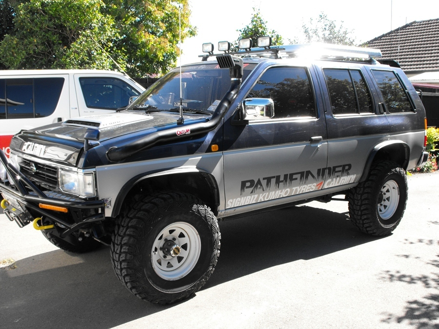 TheTowie's 1994 Nissan Terrano in Christchurch,