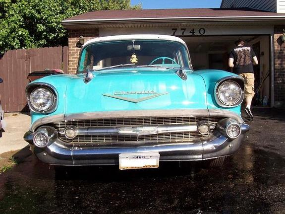 Another diabolicalsound 1957 Chevrolet Bel Air post... - 10719023