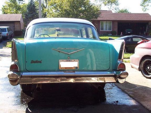 Another diabolicalsound 1957 Chevrolet Bel Air post... - 10719024