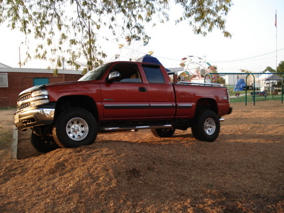 ALL-JACKED-UP 2001 Chevrolet Silverado 1500 Regular Cab