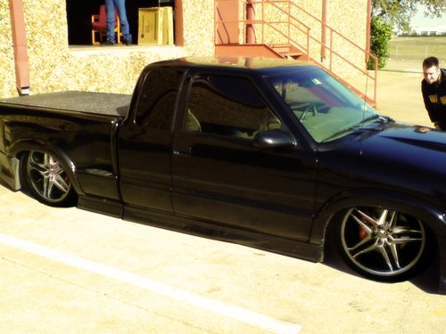 dragginmysdime 2000 Chevrolet S10 Regular Cab