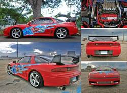 fedsGTOs 1993 Mitsubishi 3000GT
