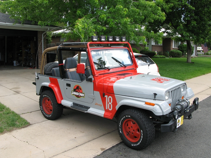 Boomerjinks 1993 Jeep YJ