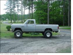 Y-U-SOLO 1985 Dodge Power Wagon