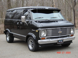 Radarlovevan 1976 Chevrolet G-Series G10