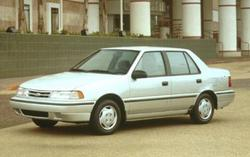 the_forgotten_ 1991 Hyundai Excel