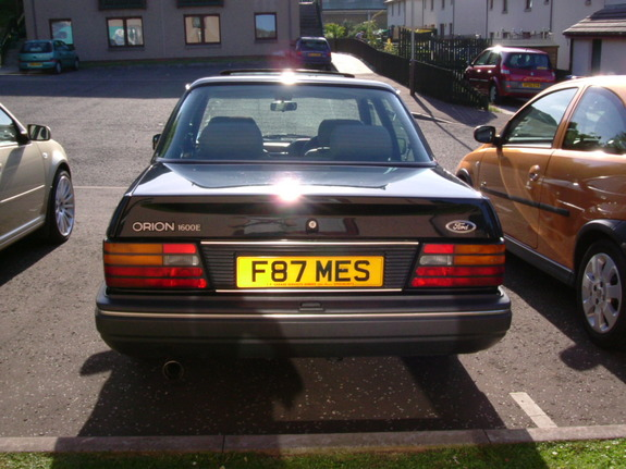 Rayfaedundee 1988 Ford Orion Specs Photos Modification