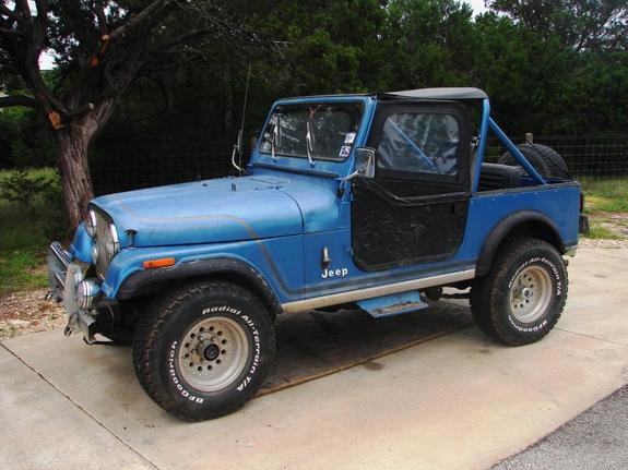 Sixinarow 1984 Jeep CJ7 10796670