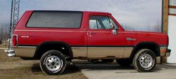 bgtrkmn 1991 Dodge Ramcharger