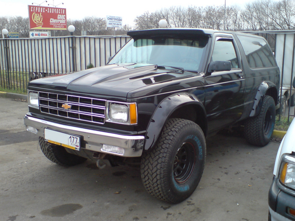 Norderndervisc 1991 Chevrolet S10 Blazers Photo Gallery At Cardomain