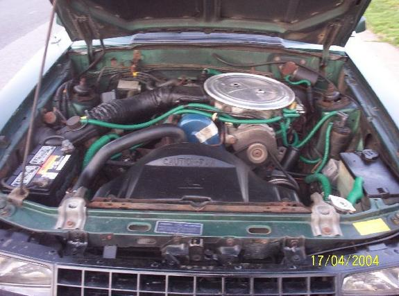 1979 Ford Mustang 2.3 Turbo Engine