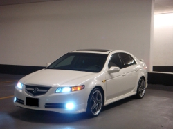 Acura 2007 on White  Phantom   S Acuratl