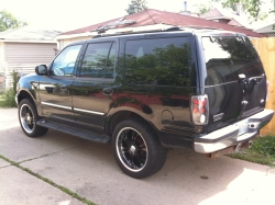 costones 2001 Ford Expedition