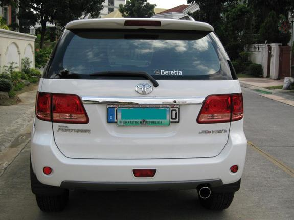 Fortallmighty 2006 Toyota Fortuner Specs Photos