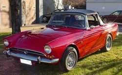 samouce 1966 Sunbeam Tiger