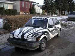 zebra66 1987 Chevrolet Sprint