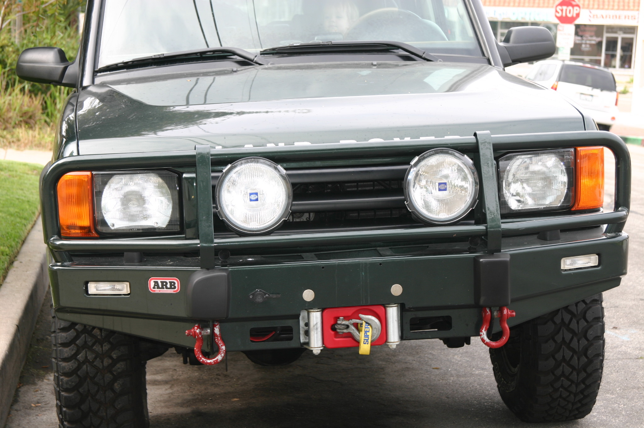 land bumper snorkel discovery landrover rover product index arb