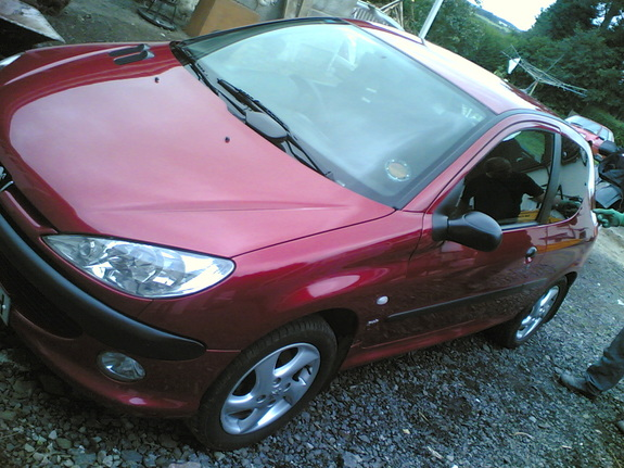 kenny16mm's 2001 Peugeot 206