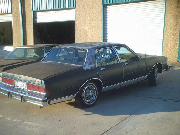 Another Chitowngangsta1 1987 Chevrolet Caprice post... - 10826030