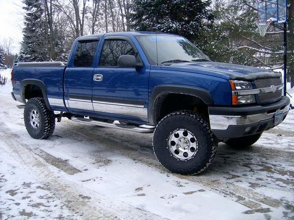 Blue Chevy Trucks