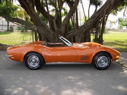 Mess-n-around 1972 Chevrolet Corvette
