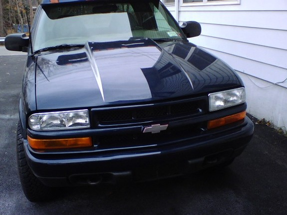 2000 chevrolet s10 specifications