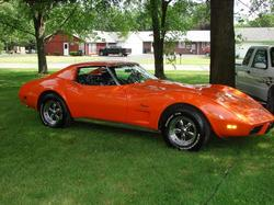 chicksdigit07s 1976 Chevrolet Corvette