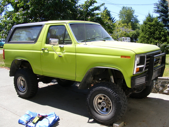 rocko 1986 ford bronco specs photos modification info. Black Bedroom Furniture Sets. Home Design Ideas