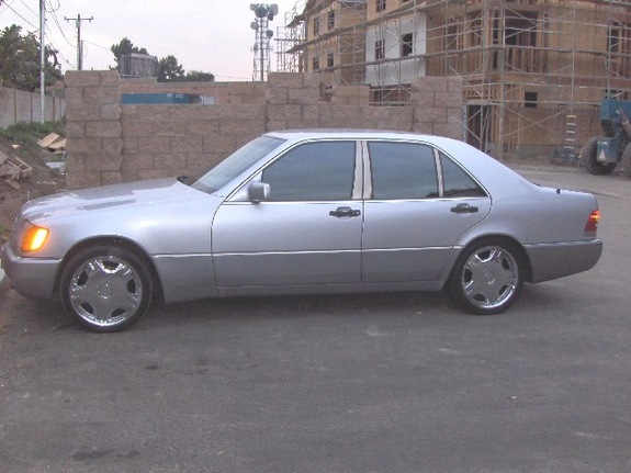 Mercedes s500 coupe 1993 cadillac
