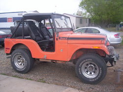 honda_civic_69s 1971 Jeep CJ5
