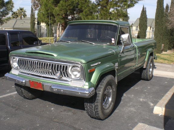 Large on 1972 Jeep Pickup Truck