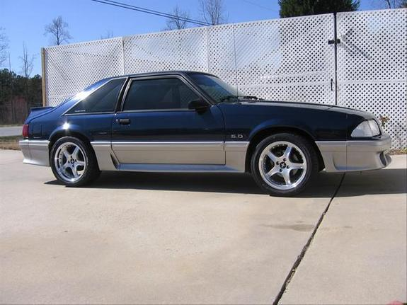Blue-Fox 1991 Ford Mustang