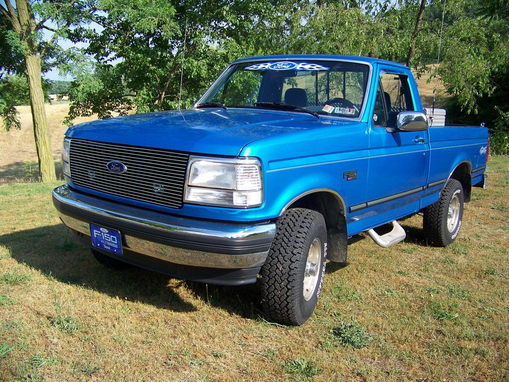 yostyexplorer94 1995 Ford F150 Regular Cab Specs, Photos ...