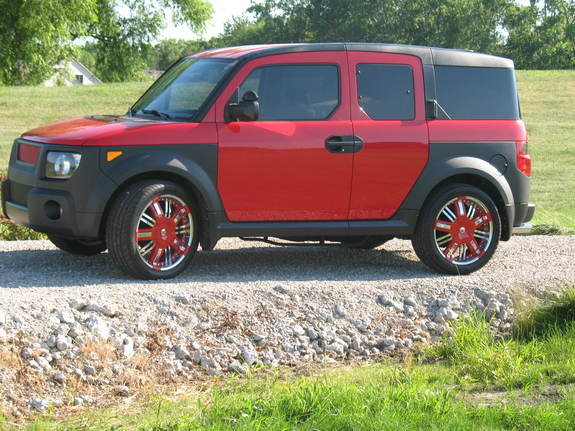 rollertoaster's 2005 Honda Element